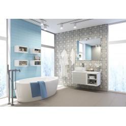 Модульная мебель для ванной Акватон Брук дуб латте