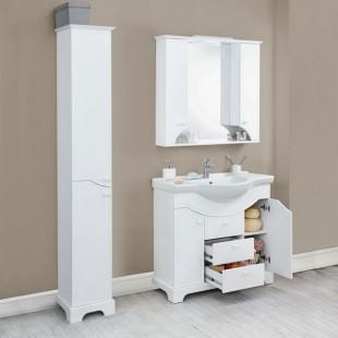 Мебель для ванной Акватон Элен 95 белый глянец
