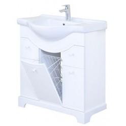 Мебель для ванной Акватон Элен 85 белый глянец