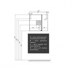 Зеркальный шкаф Акватон Ондина 80 графит 1A183502ODG20