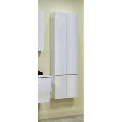 Шкаф-колонна Акватон Ондина двустворчатая белый глянец 1A175803OD010