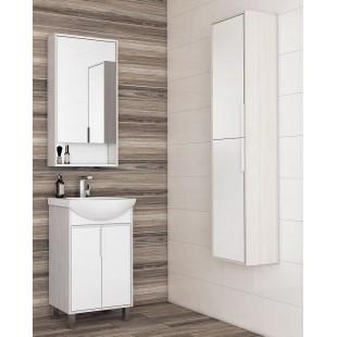 Мебель для ванной Акватон Рико 50 белый/ясень фабрик