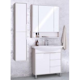 Мебель для ванной Акватон Рико 80 белый/ясень фабрик