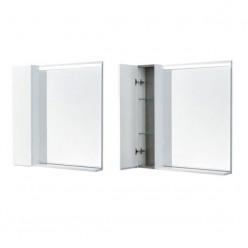 Зеркальный шкаф Акватон Рене 80 белый 1A222502NRC80