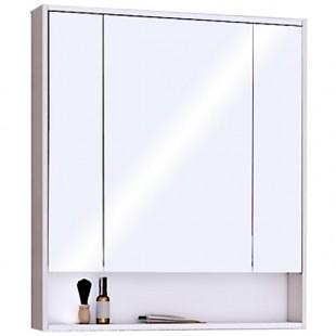Зеркальный шкаф Акватон Рико 80 белый/ясень фабрик 1A215302RIB90