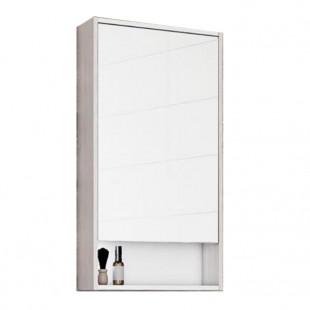Зеркальный шкаф Акватон Рико 50 белый/ясень фабрик 1A212302RIB90