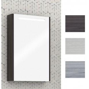 Зеркальный шкаф Акватон Сильва 50 дуб полярный 1A215502SIW7L
