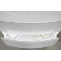 Тумба с раковиной Акватон Астера 95 белый глянец 1A195301AS010