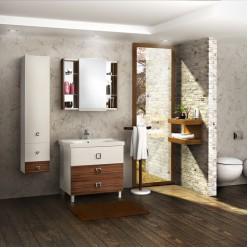 Мебель для ванной Акватон Стамбул 85 М