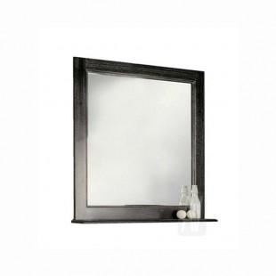 Зеркало Акватон ЖЕРОНА 85 черное серебро 1A158702GEM50