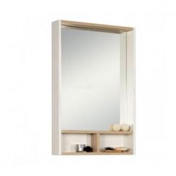 Зеркало Акватон ЙОРК 55 белый/ясень фабрик 1A173202YOAV0