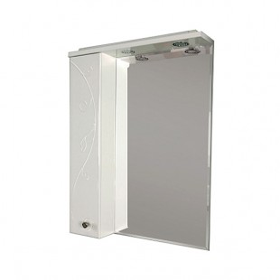 Зеркальный шкаф Акватон ЛИАНА 65 левое 1A166202LL01L