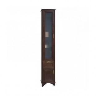 Шкаф-колонна Акватон ИДЕЛЬ дуб шоколадный 1A198003IDM8L левый