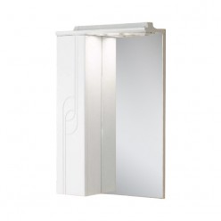 Зеркальный шкаф Акватон ПАНДА 50 левое 1A007402PD01L