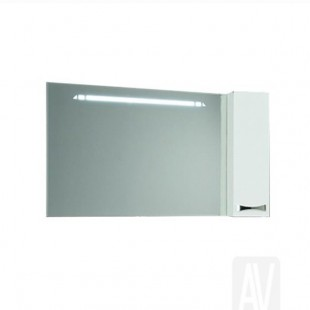 Зеркальный шкаф Акватон ДИОР 100 белый 1A167902DR01R
