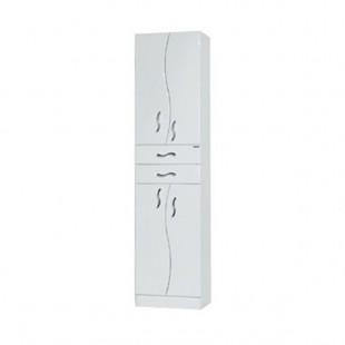 Шкаф-колонна двустворчатая Акватон ДИОНИС белый 1A122103DS010