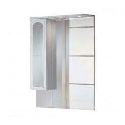 Зеркальный шкаф Акватон ЭМИЛЬЯ 75 левый 1A011202EJ01L