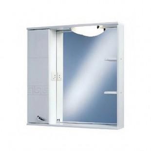 Зеркальный шкаф Акватон АТТИКА 85 левое 1A003802AT01L