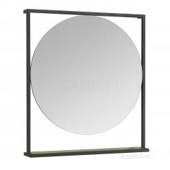 Зеркало Акватон (Aquaton) Лофт Фабрик 80 дуб эндгрейн