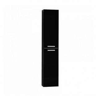 Шкаф-колонна Акватон МАДРИД М чёрный 1A129603MA950