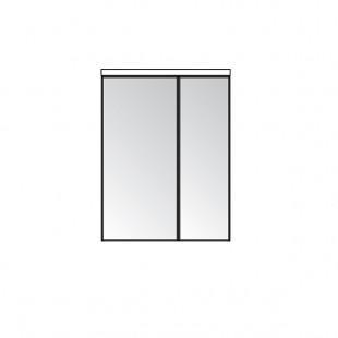 Зеркальный шкаф Акватон БРУК 60 1A200502BC010