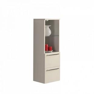 Шкаф-полуколонна Акватон СЕВИЛЬЯ белый жемчуг 1A126703SEG30