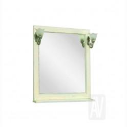 Зеркало Акватон ЖЕРОНА 85 белое золото 1A158702GEM40