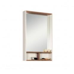 Зеркало Акватон ЙОРК 55 белый/дуб сонома 1A173202YOAD0