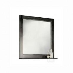 Зеркало Акватон ЖЕРОНА 105 черное серебро 1A158802GEM50