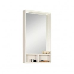 Зеркало Акватон ЙОРК 50 белый/выбеленное дерево 1A170002YOAY0