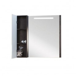 Зеркальный шкаф Акватон БРАЙТОН 80 венге 1A186102BR500