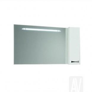 Зеркальный шкаф Акватон ДИОР 120 белый 1A110702DR01R