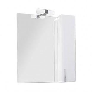 Зеркало со шкафом Акватон МЭРИЛЕНД 76 белый глянец 1A202802ME010