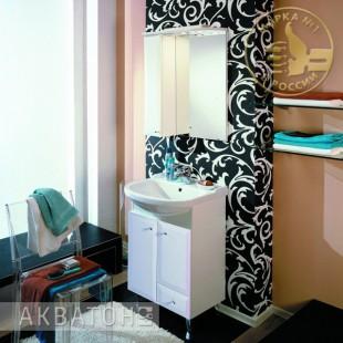 Мебель для ванной акватон Джимми 57 Мебель для ванной Акватон Джимми 57