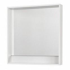 Зеркало Акватон Капри 80 белый глянец 1A230402KP010