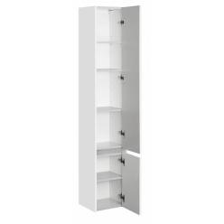 Шкаф-колонна Акватон Стоун белый глянец правый 1A228403SX01R